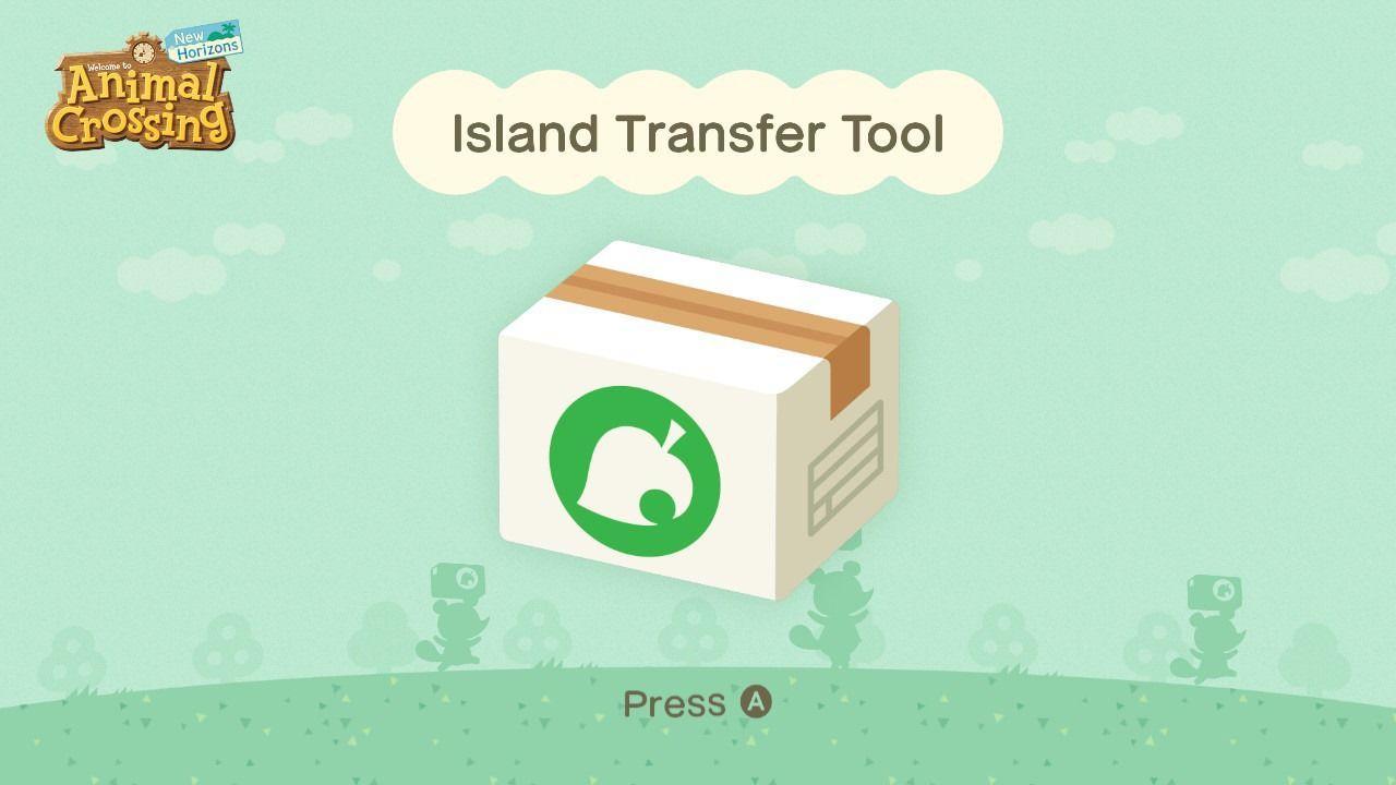 Herramienta de transferencia de islas