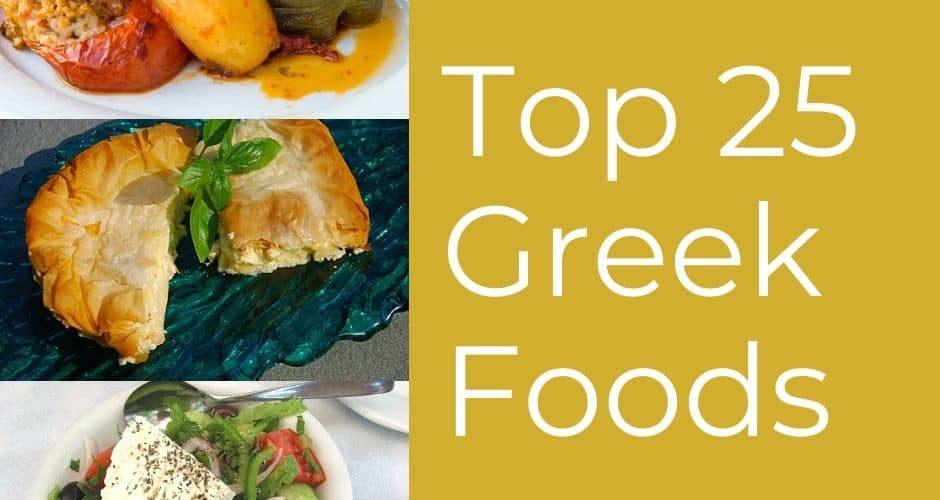 Las 25 mejores comidas griegas: los platos más populares de Grecia