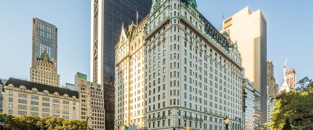 the Plaza Hotel, New York