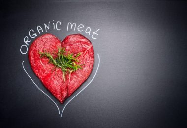 Organic meat for healthy Eating.