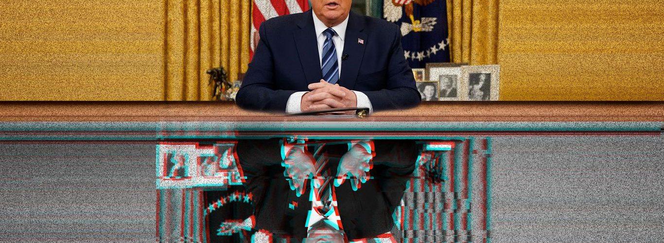 La guerra de información de cuatro años de Trump