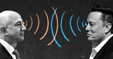 La pelea de los multimillonarios por la banda ancha satelital