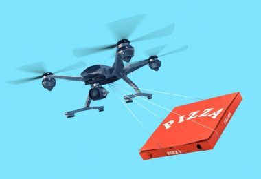 Las ciudades se preparan para la entrega a domicilio en dron