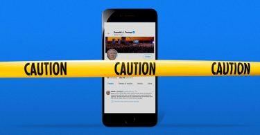 Las plataformas de redes sociales amordazan a Trump después del scrum del Capitolio