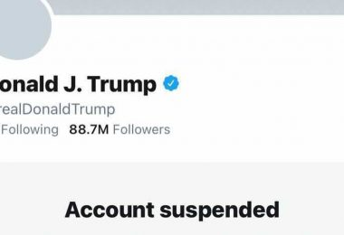 Twitter prohíbe a Trump