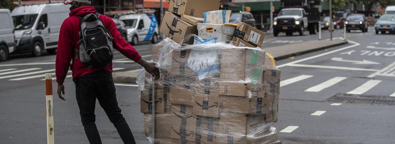 Nueva York demanda a Amazon por protección de trabajadores durante la pandemia