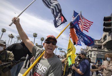 Las manifestaciones de extrema derecha en todo el país se están desvaneciendo