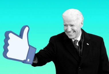 """La """"contribución en especie a Biden"""" de las redes sociales"""
