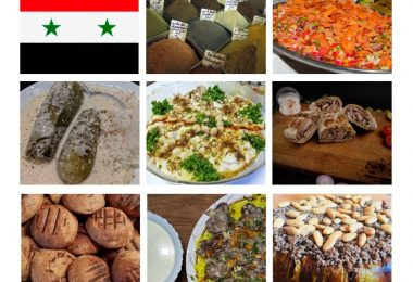 Top 20 Most Popular Foods in Syria