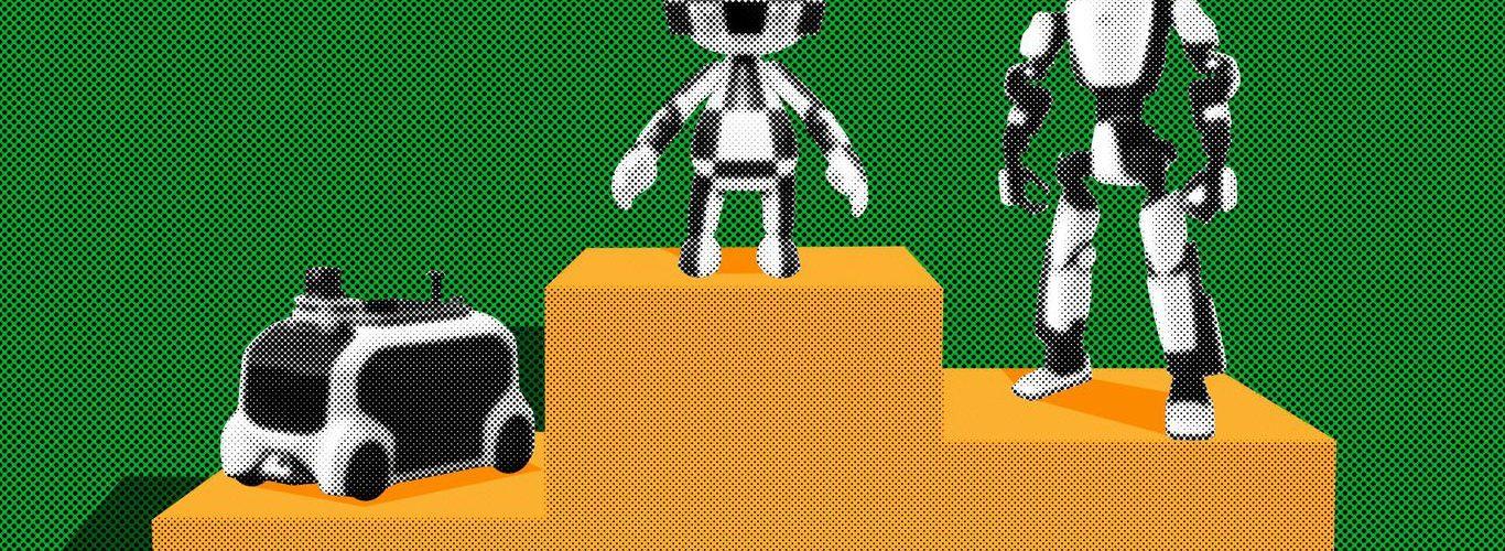 Los Juegos Olímpicos de Robots